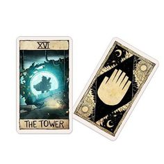Schwerkraft-Falls - Tarot Kartendeck