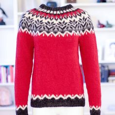 """273 Likes, 15 Comments - The ICELANDIC STORE (@icelandicstore) on Instagram: """"Love red ? I do ❤ Just got this Icelandic sweater #afmæli for my private collection. Like or love…"""""""