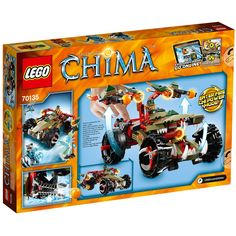 Amazon.com: Lego Chima Craggers Fire striker 70135: Toys & Games