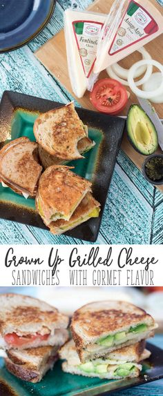 grown up grilled cheese sandwiches with gormet flavor from Life Sew Savory #StellaCheeses #TasteofAuthenticity AD