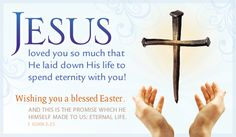 Free He Loves You eCard - eMail Free Personalized Easter Cards Online