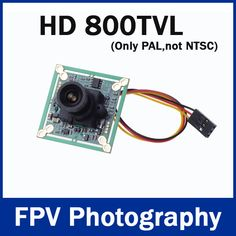 "HD 800TVL 1/3"" SONY CCD 4140 PAL 3.6mm Mini CCD FPV Camera for RC Quadcopter Drone FPV Photography"