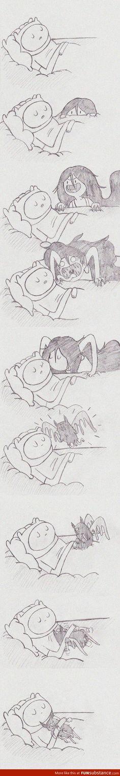 Adventure Time lo que parece ser,  nunca lo es