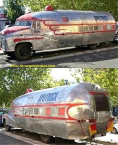 "Full Time RV Road Warriors: Best of Custom ""So Ugly it's Cool"" Campers - would love to camp or ""survive"" in this!!"