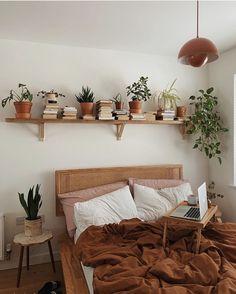 Bohemian Bedroom Decor, Diy Bedroom Decor, Earthy Bedroom, Bohemian Interior, Bohemian Homes, Bohemian Bedding, Hippie Bedrooms, Minimal Bedroom, Neutral Bedrooms