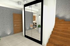 fototapete birkenwald und kleiderschrank mit spiegelt ren esras welt pinterest fototapete. Black Bedroom Furniture Sets. Home Design Ideas