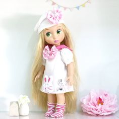 Doll clothes Set of 2 pcs.  for Disney by RabbitinthemoonThai