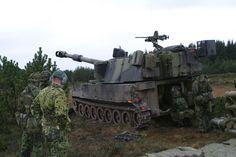 M109A3 Howitzer Danish