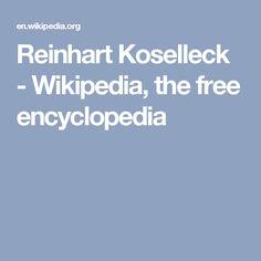 Reinhart Koselleck - Wikipedia, the free encyclopedia