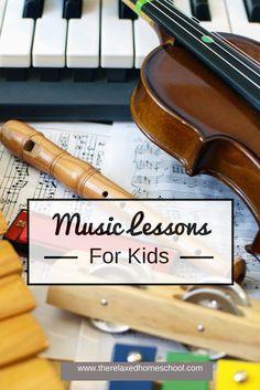 Kids Music: Teaching music in your homeschool