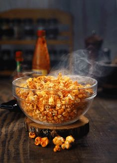 kitchen ghosts food&lifestyle cinemagraphs by daria khoroshavina Steaming spicy popcorn Food Photography Styling, Food Styling, Spicy Popcorn, Cinemagraph, No Cook Meals, Food For Thought, Animation, Asian Recipes, Food Art