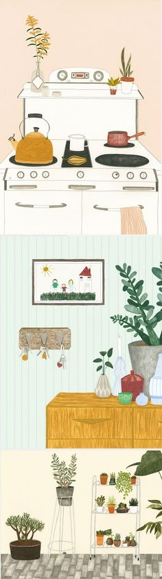 Illustrations by Melanie Gandyra / On the Blog!