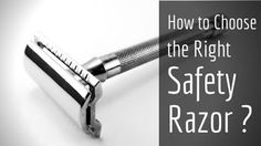 How to choose the right safety razor step by step? Things like respectable brand, handle length & weight are important features for a great safety razor.