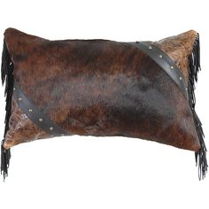 Leather Accent Pillows Pillow