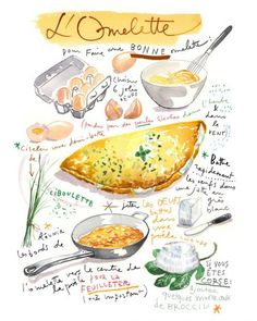 illustration lucile prache omelette.jpg - Lucile PRACHE | Virginie