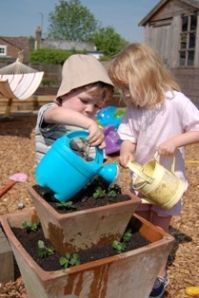 How to get children interested in gardening