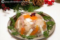 piftie-de-curcan Romanian Food, Panna Cotta, Breakfast, Ethnic Recipes, Pork, Morning Coffee, Dulce De Leche