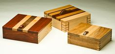 Handmade Exotic Wood Boxes by George Abiad