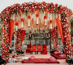 Wedding Stage Backdrop, Wedding Hall Decorations, Wedding Stage Design, Desi Wedding Decor, Backdrop Decorations, Wedding Ideas, Wedding Pics, Wedding Things, Indian Wedding Venue