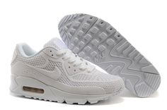 sports shoes 93126 63941 Nike Air Max 90 Mujer Blancas Zapatillas Tenis, Zapatillas, Vestidos,  Mujeres, Zapatillas