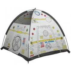 Space Module Tent - Get ready for Blast off in this fun play dome, a perfect start for space exploration. #gift #ideas #holiday #shopping #science #educational #space #astronaut #tent #spacestation #exploration #imagination