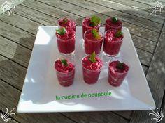 #MiogoMaestro : verrines betteraves au Boursin.
