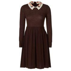 Orla Kiely Lace Macrame Dress, £285.00