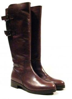 Botas altas de piel con hebillas Wonders  http://ift.tt/2hlc4wA