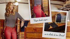 ¡Buen fin de semana y que tengáis un feliz Puente!   Have a nice weekend!   Passez-vous un bon week-end!    #Divuit #findesemana #weekend #puente #bankholidays #comodidad #comfort #mujer #women #bella #pretty #pantalones #pants #otoñoinvierno #autumnwinter #20152016