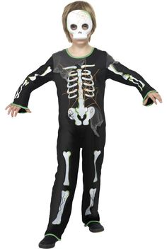 Kid's can be spooky to. Find this cool skeleton costume and other kid's dress ups at http://www.heavencostumes.com.au/skeleton-boys-halloween-costume.html