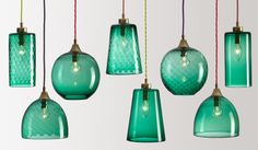 Handblown Glass Lighting by Rothschild  Bickers