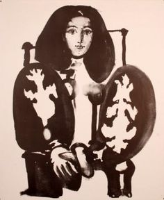 THE POLISH COAT  By Pablo Picasso  Dimensions: 33.07 X 23.62 in (84 X 60 cm)  Lithograph   http://www.zaidan.ca/Art_Gallery/Picasso/Pablo-Picasso.htm