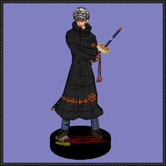 One Piece - Trafalgar D. Water Law Free Papercraft Download - http://www.papercraftsquare.com/one-piece-trafalgar-d-water-law-free-papercraft-download.html