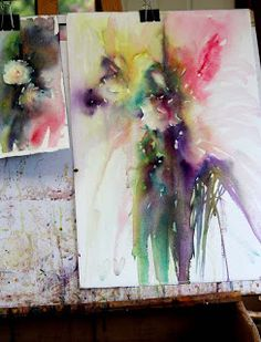 Watercolours With Life: Inspiration From Small Studies: Winsor &Newton Opera Rose