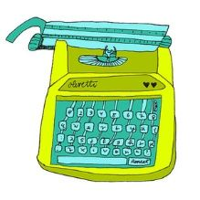 I like typewriters right now