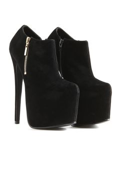 Caitlyn Extreme Heel Suede Boots. And then these boots to complete the skirt/ bralet outfit because well I'm small, they're amazing and I have to look my best this new years. #MGWINTERWARDROBE