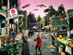 70 bands represented humorously in this image queen smashing pumpkins alice in chains Gorillaz led zeplin rolling stones guns and roses eagles styx cranberries help me. Hidden Pictures, Best Funny Pictures, Cool Pictures, Guns N Roses, Bts Communication, Puzzle Photo, Virgin Records, Hidden Movie, White Zombie