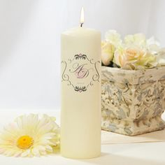 Cathy's Concepts PC1276I Ivory Royal Unity Candle #wedding