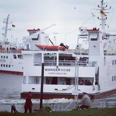 Carolinensiel-#Harlesiel. #Fähre nach #Wangerooge.