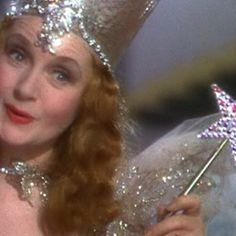 Glenda, the good witch!