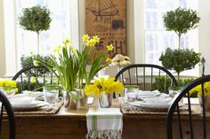 Nora Murphy Country House Seasons 2016 by Nora Murphy Country House - issuu House Seasons, Cozy Cottage, Yellow Cottage, Irish Cottage, Cottage Style, Flowers For You, Rustic Flowers, Easter Table, Easter Decor