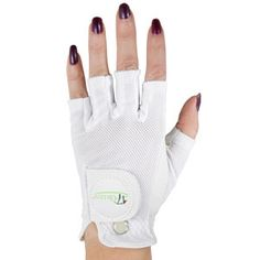 dbd3a1eb2c 17th Green Ladies Half-Finger Golf Gloves Golf Warehouse, Nail Length,  Flexibility,