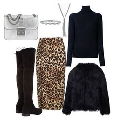 Still winter ❄ by allexa21 on Polyvore featuring polyvore fashion style STELLA McCARTNEY WithChic Alberto Biani Stuart Weitzman Michael Kors Apt. 9 Alor clothing