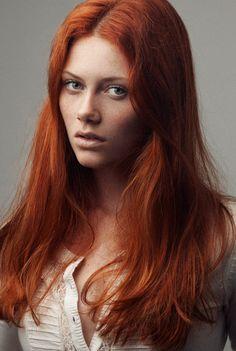 James Broadhurst [Photographer] Stunning red hair.