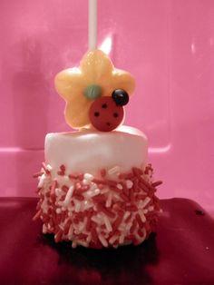 Ladybug marshmallow