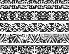 Kowhaiwhai Designs royalty-free kowhaiwhai designs stock vector art & more images of artYou can find Maori art and more on our. Maori Designs, Polynesian Tattoo Designs, Polynesian Art, Maori Tattoos, Marquesan Tattoos, Filipino Tattoos, Borneo Tattoos, Tribal Tattoos, Tatoos