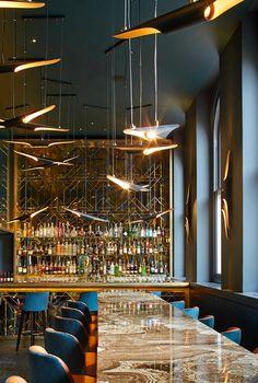 Restaurant Interior Ideas | Christopher's Bar in London | Inspiration &…