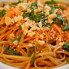 Spicy Thai noodles- Used only 1tbsp Red Pepper and Rice Noodles.  Will make again with regular pasta.