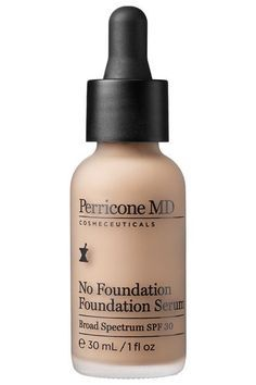 """11 """"Non-Foundations"""" For No-Makeup Makeup #refinery29  http://www.refinery29.com/best-sheer-face-makeup#slide-1  Intensity Level: 3Finish: Semi-matteIf you're going for the no-makeup makeup look, why not pick one cleverly named after the trend? Dr. Perricone's line of skin care masquerading as makeup offers the ideal product for the skin care obsessed. This serum/makeup hybrid incorporates the brand's go-to anti-aging ingredients, like neuropeptides, alpha lipoic..."""