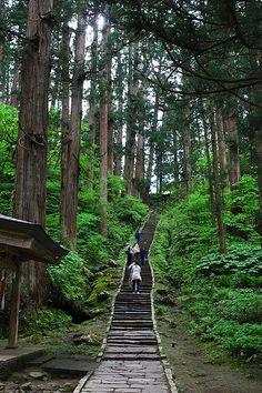 Mount Haguro, Tsuruoka, Yamagata, Japan